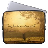 Every Forest Has A Story To Tell Laptop Sleeve