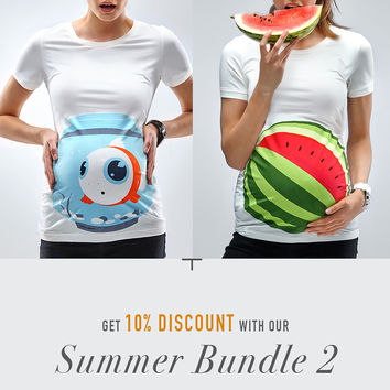 Summer Bundle 2 / Fishbowl + Watermelon