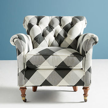 Buffalo Check Gwinnette Chair
