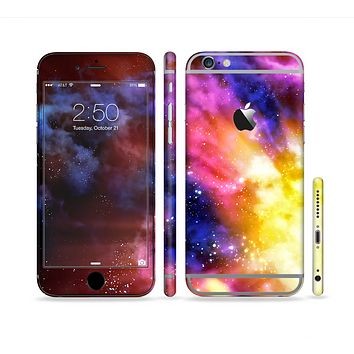 The Super Nova Noen Explosion Sectioned Skin Series for the Apple iPhone 6 Plus