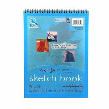 ART1ST SKETCH BOOK 9X12 30 SHT WHT