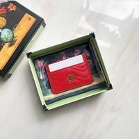 MARMONT CARD HOLDER (RED)