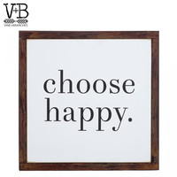 Choose Happy Wood Wall Decor | Hobby Lobby | 1465913