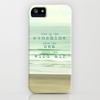 live in the sunshine iPhone & iPod Case by Sylvia Cook Photography
