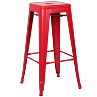 Trattoria Bar Stool in Red