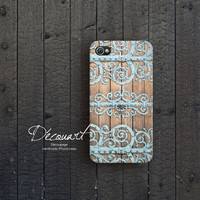 Stylish iPhone 4 case iPhone 4s case wall texture S135 by Decouart