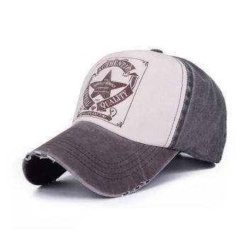 Pentagram Embroidered Baseball Cap