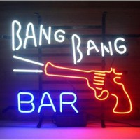 Bang Bang Bar Here Neon Sign