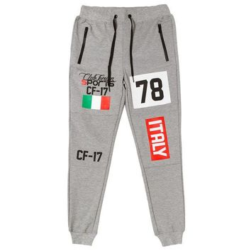 ONETOW Club Foreign Sports Italy Series Pants Slim Fit Grey