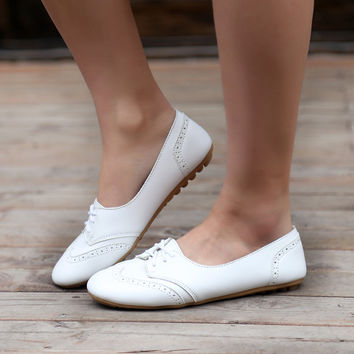 2016 Shoes Woman Flats 5 Colors Buckle Loafers Slip On Casual Women's Ballerina Flat Shoes Moccasins zapatos mujer Plus Size NEW