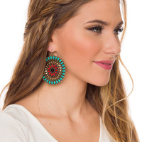 Kira Earrings - One Size / Turquoise
