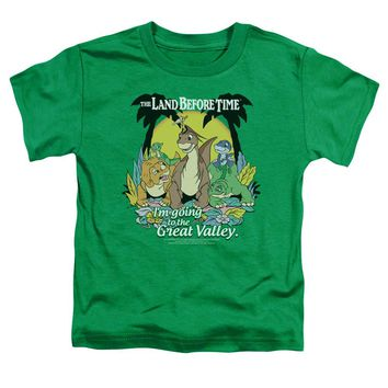 Land Before Time - Great Valley Short Sleeve Toddler Tee