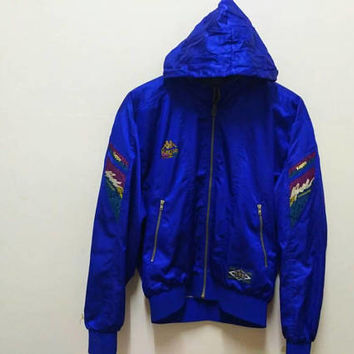 Kappa sports  Hoodie windbreaker waterproof  Training suit vintage