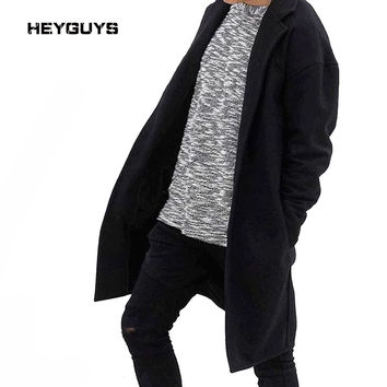 style new winters long coat men hoodie long coat restoring ancient male cotton-padded clothes MEN