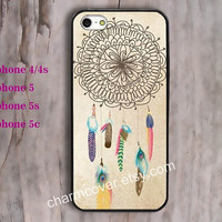 Dream Catcher, phone case,iPhone 5 ,5s,5c and iPhone 4 / 4s Plastic/rubber Hard iPhone case Picture Custom iPhone,water proof
