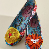 Irregular Choice Tiger-Frilly Flat | Mod Retro Vintage Flats | ModCloth.com