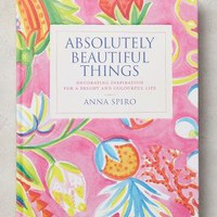 Absolutely Beautiful Things by Anthropologie in Pink Size: One Size Books