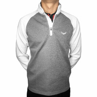 Royal Golf Quarter-Zip Jacket White