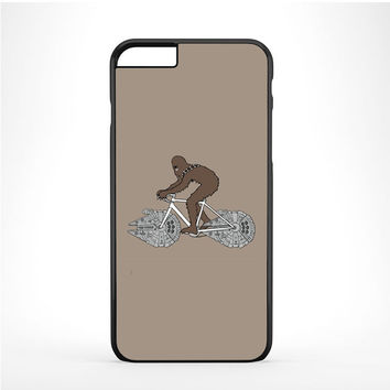 Chewbacca Biking Star Wars Ilustration Iphone 6 Plus | 6s Plus Case