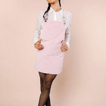 Lulu Pinafore Dress