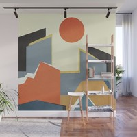 Abstract Architecture 03 Wall Mural by marcogonzalez