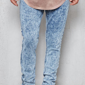 PacSun Skinny Acid Wash Flex Stretch Jeans at PacSun.com