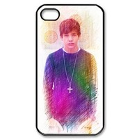 ByHeart austin mahone Hard Back Case Shell Cover Skin for Apple iPhone 4 and 4S - 1 Pack - Retail Packaging - 8122