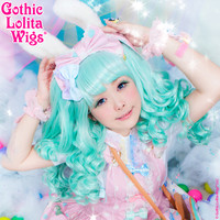 Gothic Lolita Wigs® Baby Dollight™ Collection - Mint Mix