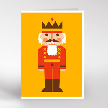 Nutcracker card by Dicky Bird