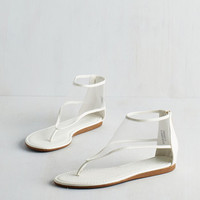 ModCloth Minimal Mesh-ion You Highly Sandal