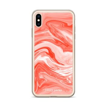 Marble 030 iPhone Case