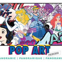 Pop Art Princess, Disney Panoramic 700 Piece Puzzle
