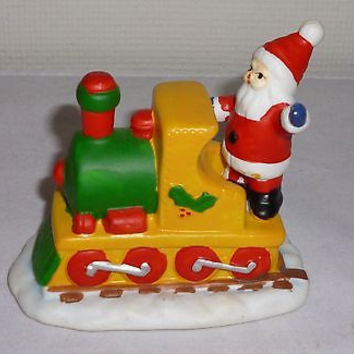 Christmas Santa Claus Train Figurine