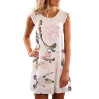 Floral Valley Summer Dress