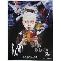 Korn - See You On The Other Side - Poster - James Munky Shaffer - Brian Head Welch - Reginald Fieldy Snuts Arvizu - David Silveria - LAPD - Jonathan Davis - Sexart