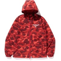 COLOR CAMO HOODIE JACKET MENS