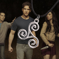Teen Wolf Triskele Necklace