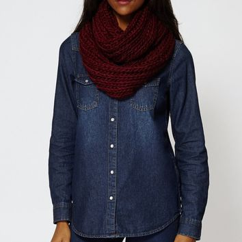 Knitted Infinity Soft Scarf Snood