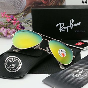 RayBan trend colorful men and women models wild pilot polarized sunglasses #4