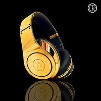 Monster Beats by Dr.Dre Studio Gold headphone headband on sale,for Cheap,wholesale