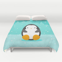 Penguin Duvet Cover by EDrawings38
