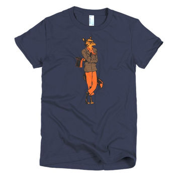 Fox Short sleeve women's t-shirt