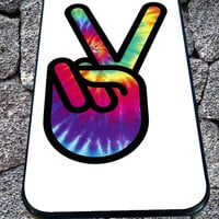 Hippie Peace Sign for iPhone 4/4s/5/5S/5C/6, Samsung S3/S4/S5 Unique Case *99*