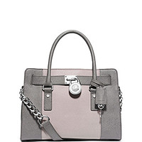 MICHAEL Michael Kors Hamilton Colorblocked East/West Satchel | Dillards.com