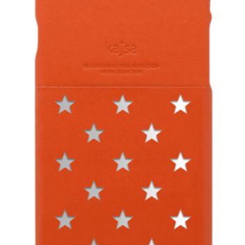 Kajsa Neon Star Pocket Collection iPhone Case - Red