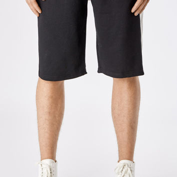 SR214 Stripe Shorts - Black