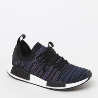 Women's Black Multi NMD_R1 STLT Primeknit Sneakers - black multi | PacSun