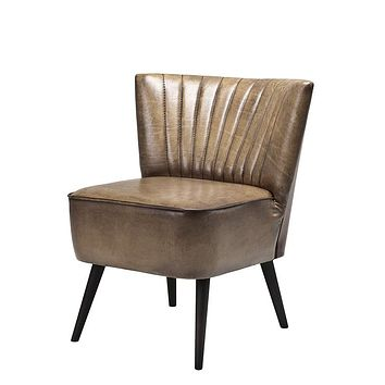 Olive Leather Chair | Eichholtz Allstar