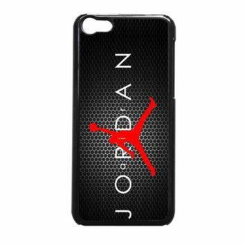 CREYUG7 Michael Jordan NBA Chicago Bulls Flying iPhone 5c Case