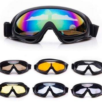 Day-First™ ATV Dirt Bike Motorcycle Motocross Dustproof Off Road Racing SKI Goggles Glasses
